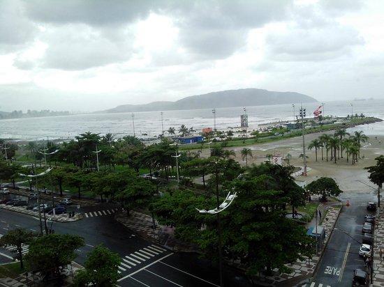 Hotel Imperador: vista panorâmica da área do solarium