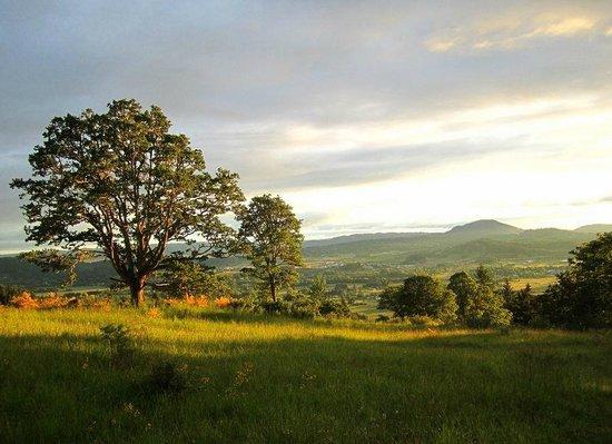 Eugene, Oregón: Mont Pisgah sunset