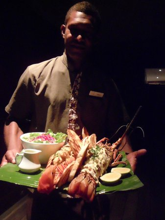 Paradise Cove Resort : Lobster meal.  Highly recommended.