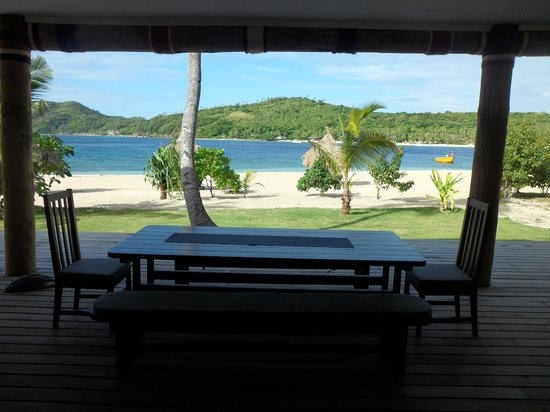 Paradise Cove Resort : Looking out towards main resort from Villa's across.