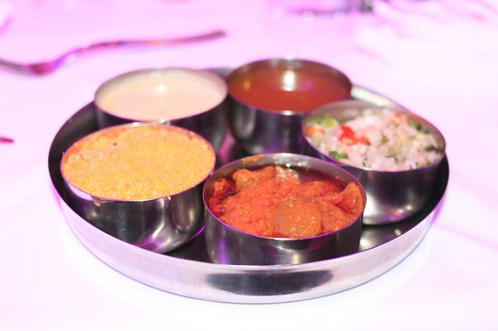Empire of India: Chutney Tray includes house favourite Coconut dip