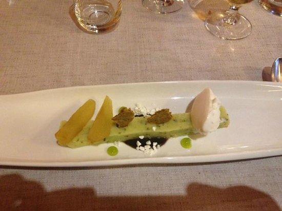 restaurant el portalet: Dessert
