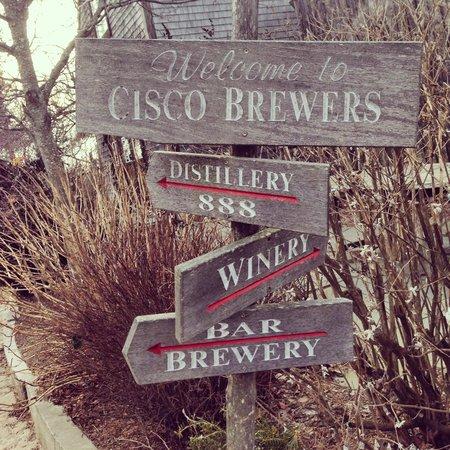 Cisco Brewers : cisco sign