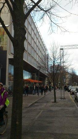 Clarion Hotel Stockholm : Entre utsida
