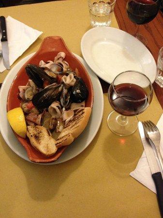 La Ghiotta: Seafood starter