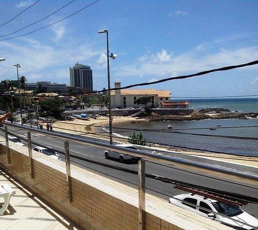Mar Hotel Rio Vermelho: Vista da área da piscina