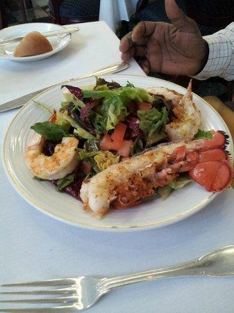 Ristorante La Perla: Lobster and Shrimp Salad