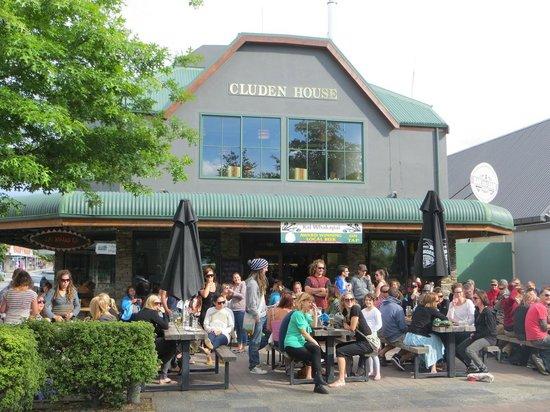 Kai Whakapai Cafe and Bar: terrasse