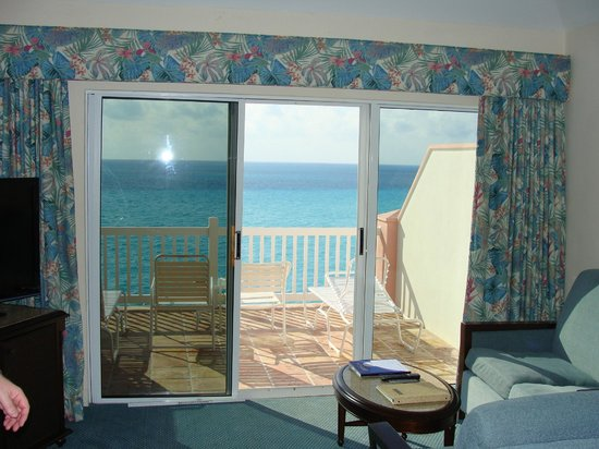 Pompano Beach Club: ocean view from room 83