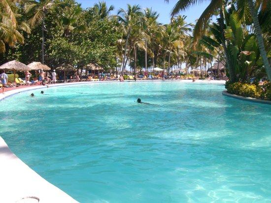 Catalonia Bavaro Beach, Casino & Golf Resort : parte de la inmensa piscina