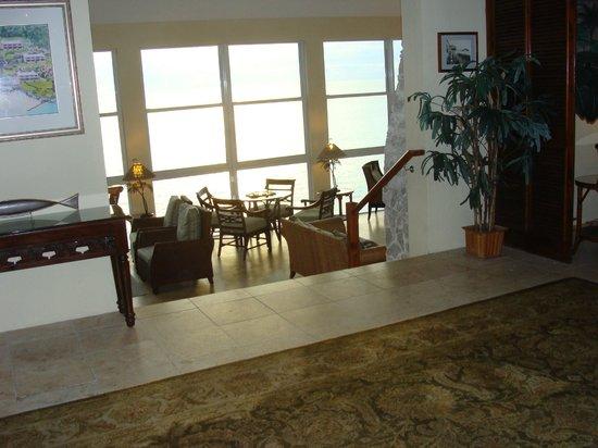 Pompano Beach Club : hotel lobby area