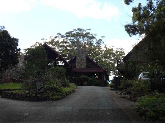 Binna Burra Mountain Lodge : Binna Burra entrance to Reception