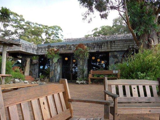 Binna Burra Mountain Lodge: Dining Room and outside area
