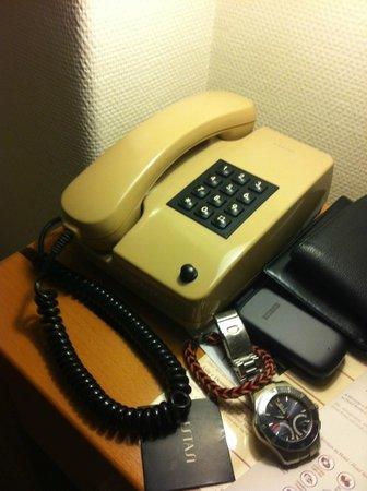 Hotel Roma: Telefone antigo