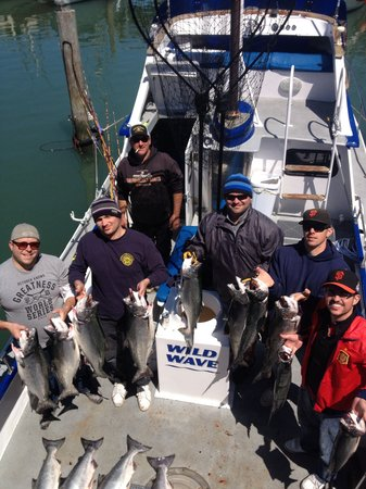Wild Wave Sport Fishing Charters: Salmon