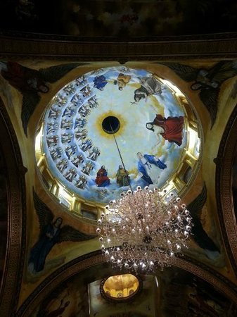 The Heavenly Cathedral : Domed ceiling