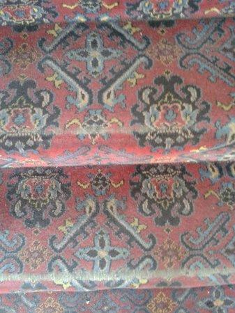 Britannia Ashley Hotel: Threadbare carpet