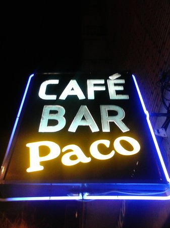 CAFE BAR PACO