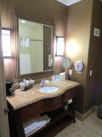 Hampton Inn & Suites Rockport - Fulton: Bathroom