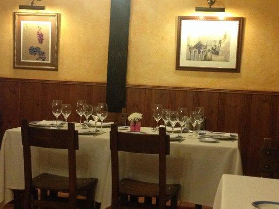 Restaurante Los Caballeros : COMEDOR