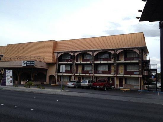 Mardi Gras Hotel & Casino: entree hotel