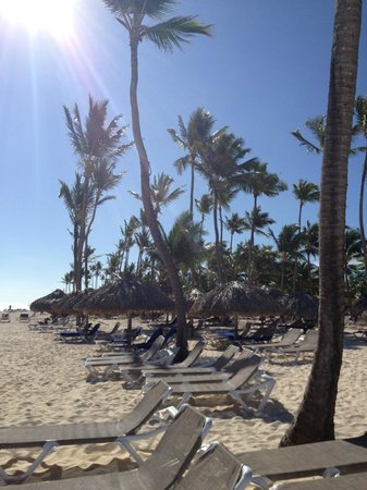 Bavaro Princess All Suites Resort, Spa & Casino : Gorgeous beach!