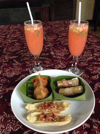 Ellora Villas: afternoon treats from ellora :)