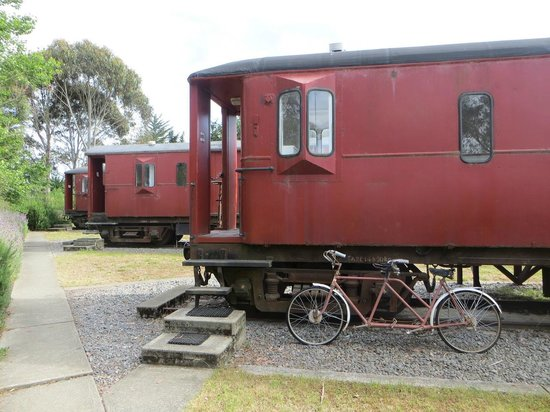 Waipara Sleepers: wagon-chambre