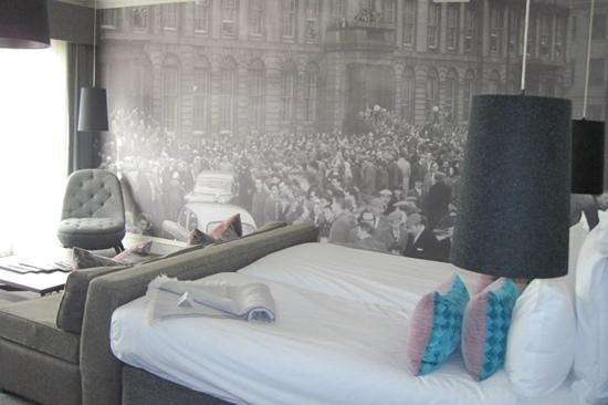 Blythswood Square: Deluxe twin room