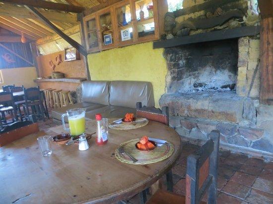 Raquira Silvestre Lodge : El Comedor