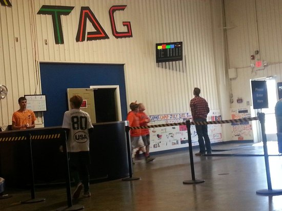 Chesterfield Sports Fusion: Laser tag scoreboard
