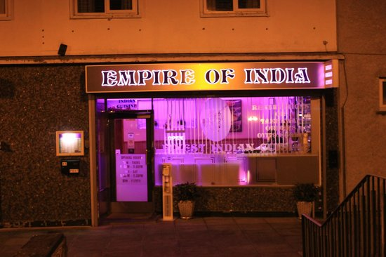 Empire of India : Best in the town. Keynsham's finest Indian cuisine
