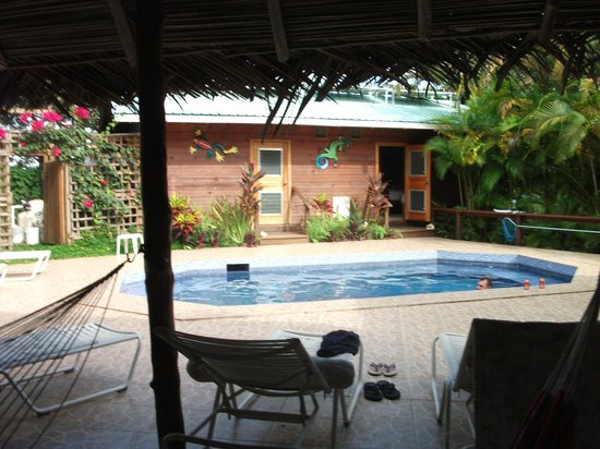 Garden of Eden Inn: The pool - steps away from the bar, rooms, & dining!