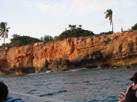 Aqua Mania Adventures : cliffs of St. Maarten
