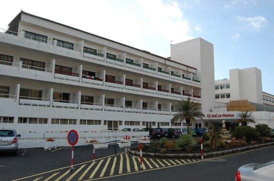 Sol La Palma Hotel: Hotel exterior