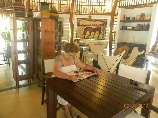 Merecumbe Hotel: Apacible sitio para la lectura