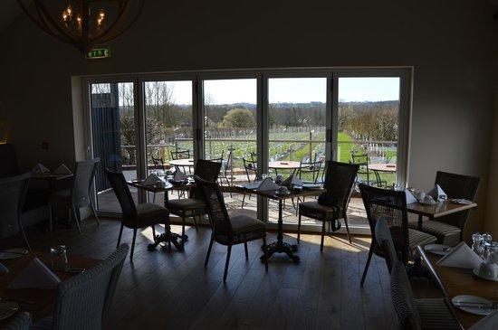 Llanerch Vineyard : Dining room