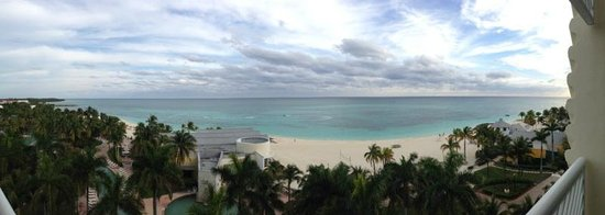 Grand Lucayan, Bahamas: View from the 6th floor Ocean view suite