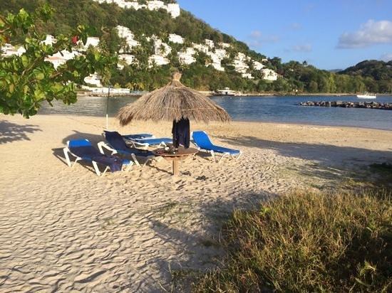 Windjammer Landing Villa Beach Resort : Daily drill. Very relaxing.