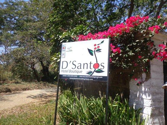 D'Santos Hotel Boutique: entrada