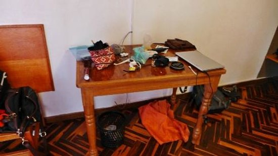 Hotel Puno Terra: Our table