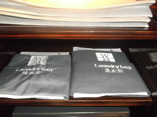 WH Ming Hotel Shanghai: laundry bags