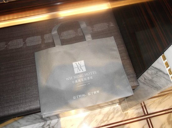 WH Ming Hotel Shanghai: bags available
