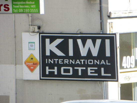 Kiwi International Hotel: entrée