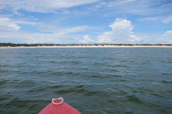 Passeio de bugue as Lagoas Azul e Paraiso : Caiaque na lagoa azul