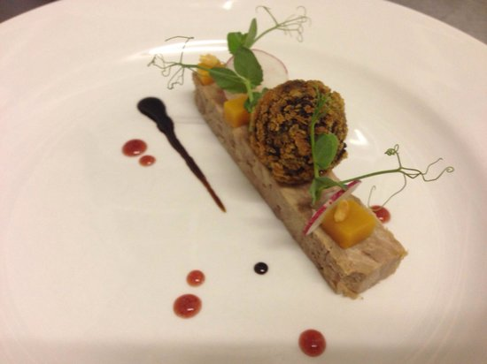 Kildrummy Inn: Potted Duck, Black Pudding