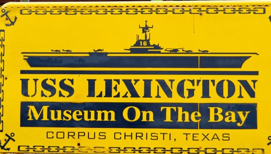 USS LEXINGTON : Signage