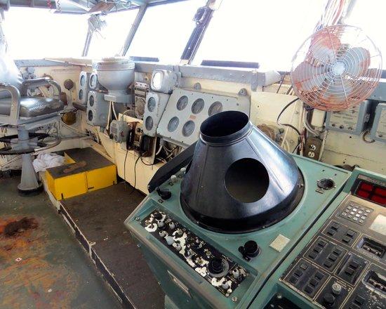 USS LEXINGTON: Bridge