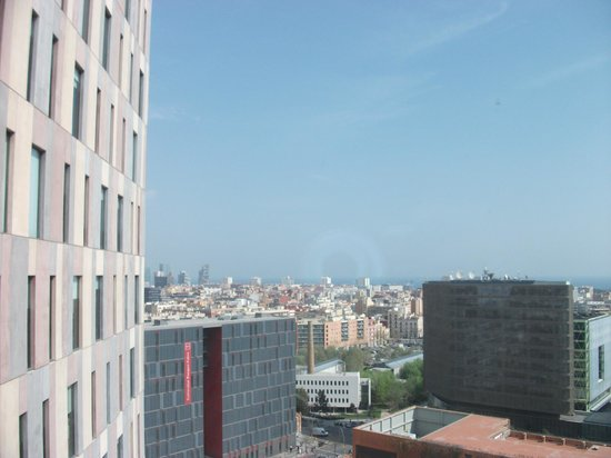 Novotel Barcelona City: View from room - lovely!