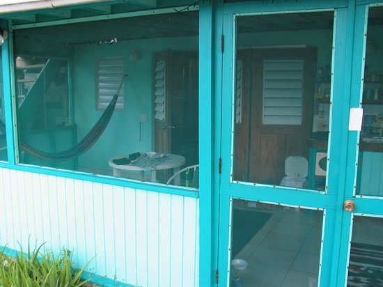 Casita Tropical: Our efficiency from the outside